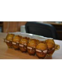 Упаковка из ПЭТ для куринных яиц 10 ячеек