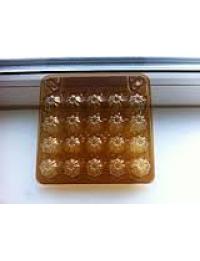 Упаковка из ПЭТ для перепелинных яиц 20 ячеек